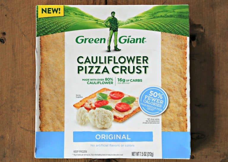 box of Green Giant Cauliflower Pizza Crust