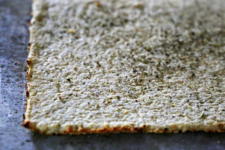 seasoned cauliflower pizza crust