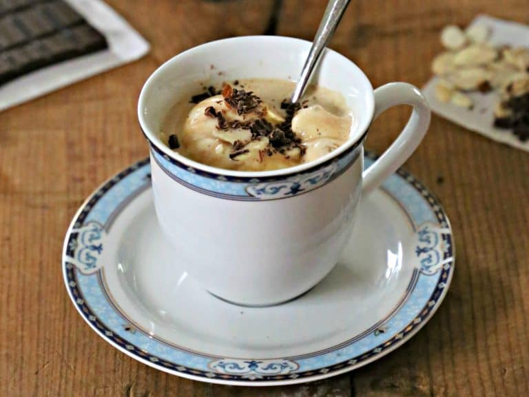 Easy Keto Affogato