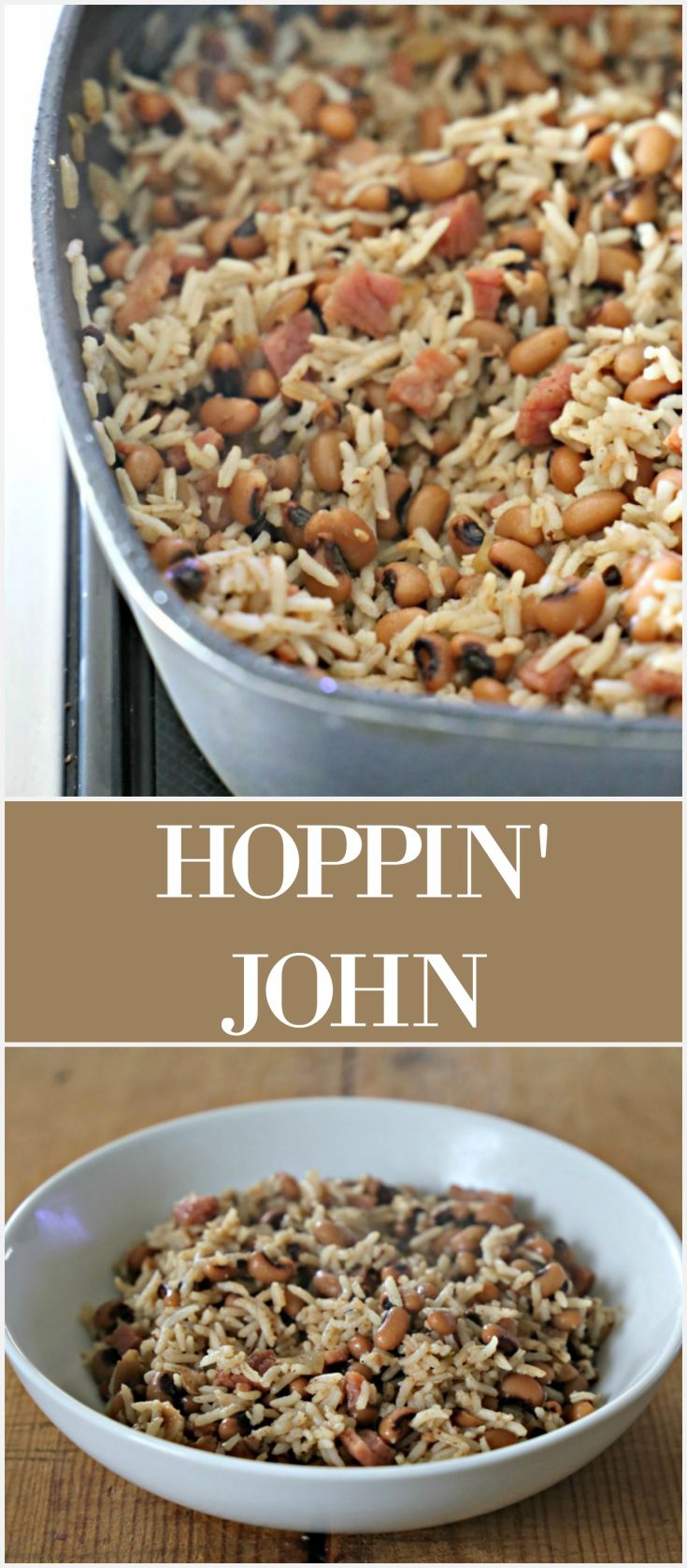 A blend of rice, black-eyed peas, ham and seasoning, this dish is a delicious way of ringing in the New Year.