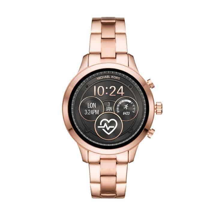 Michael Kors Runway Access smartwatch in rose gold