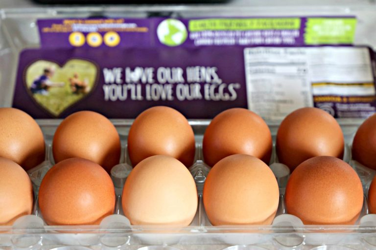 carton of Nellie's Free Range Eggs