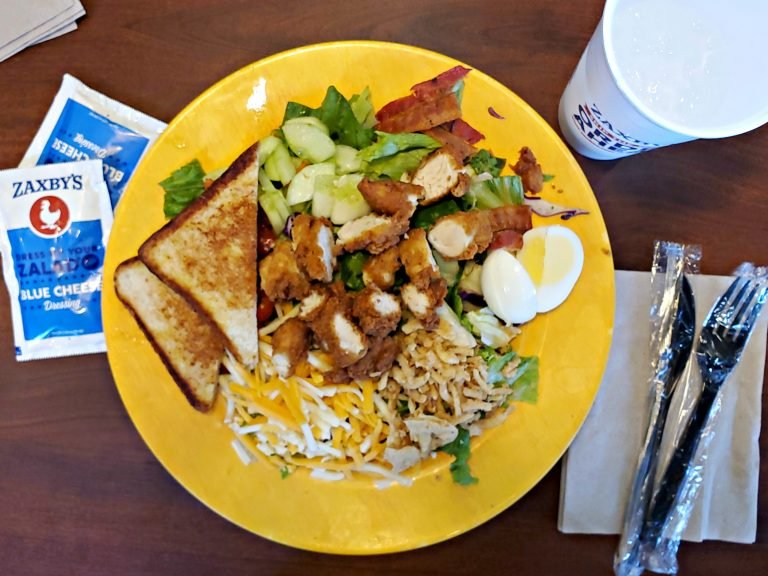 Healthy Fast Food Options Zaxby S Salads