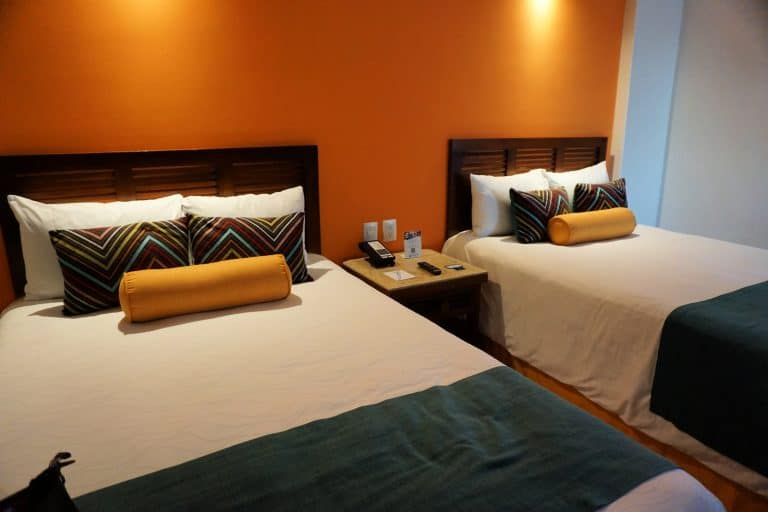 Double room at resort
