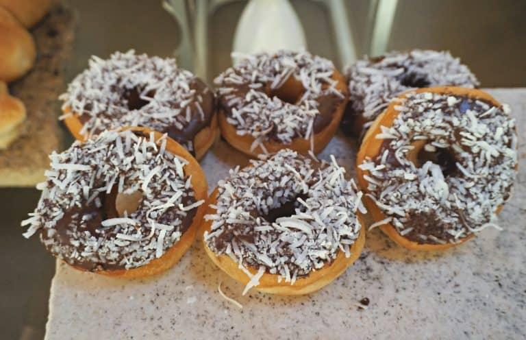 Doughnuts at Frutas & Flores