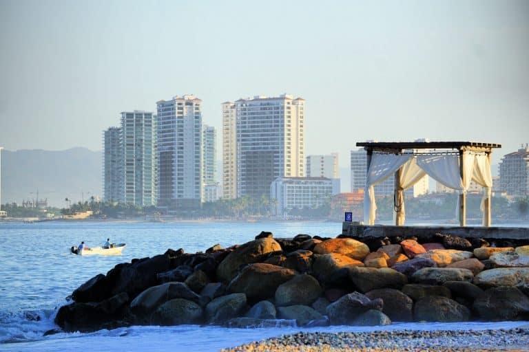Romantic view of Banderas Bay