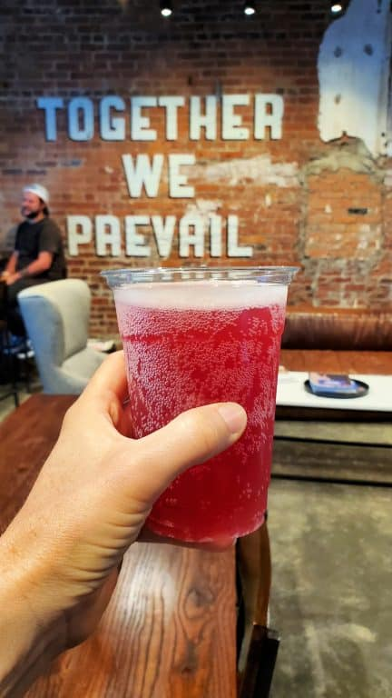 kombucha at Prevail in Montgomery