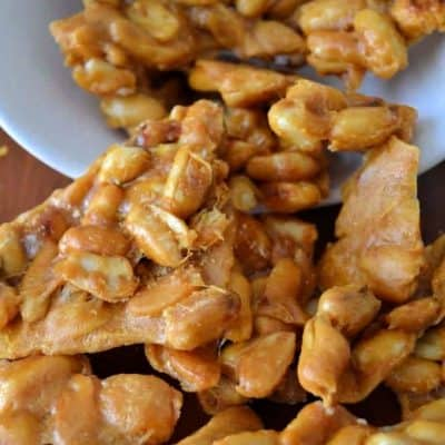 Vernel's Homemade Peanut Brittle