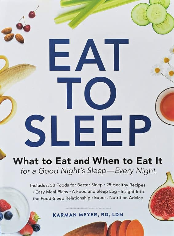 Eat To Sleep book