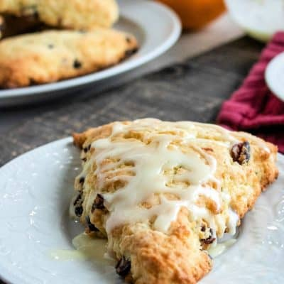 How To Make Homemade Orange Cranberry Scones