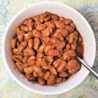 Saucy Pinto Beans