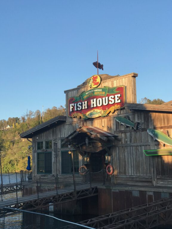 White River Fish House restaurant in Branson