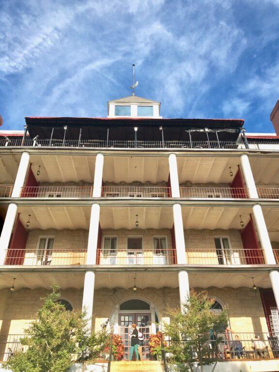 Crescent Hotel facade
