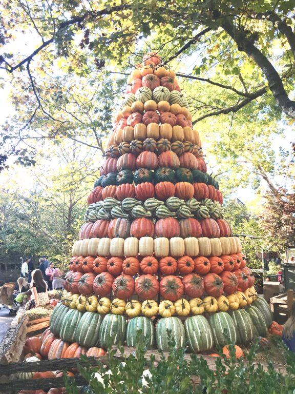 pumpkin Christmas tree