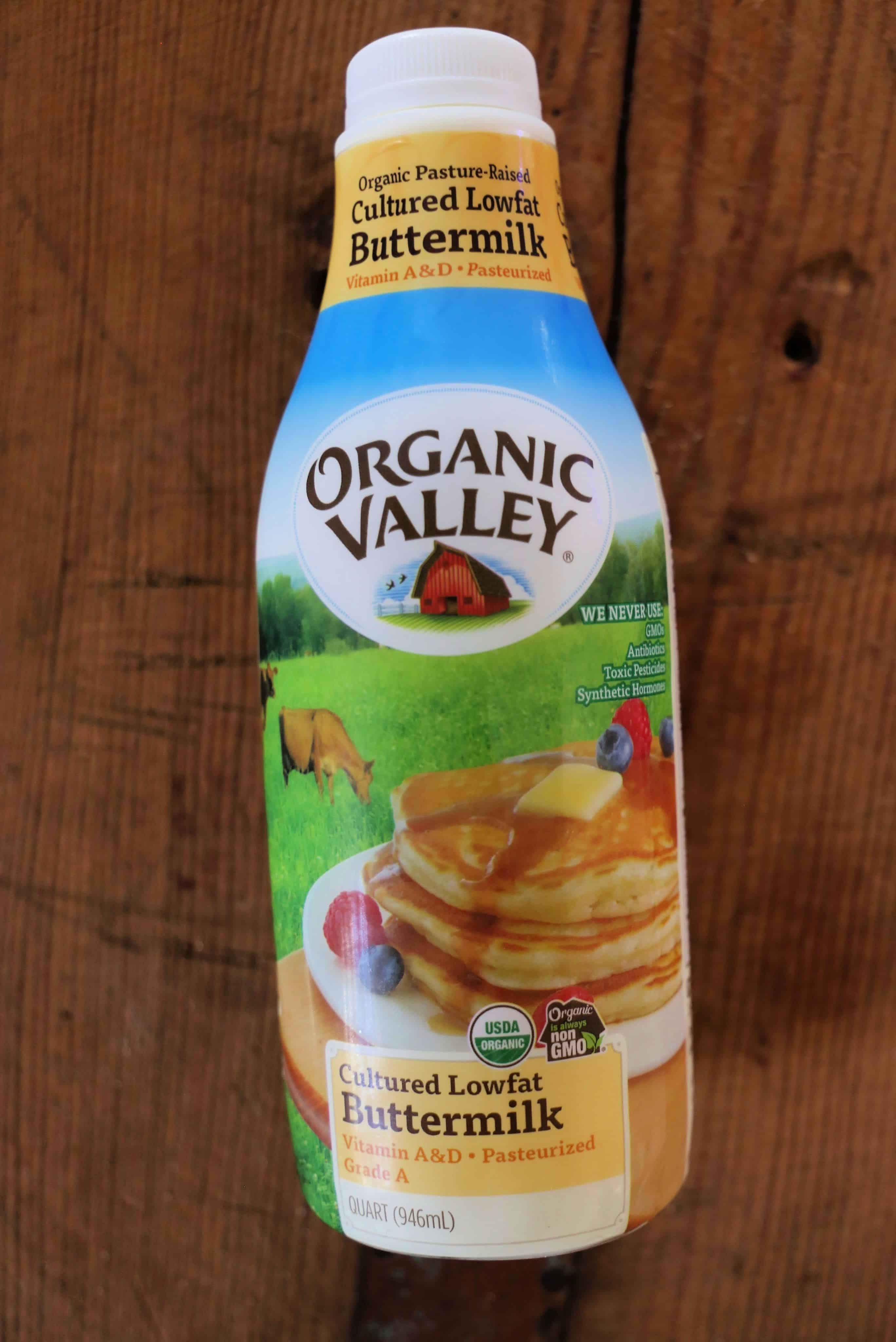 bottle of buttermilk