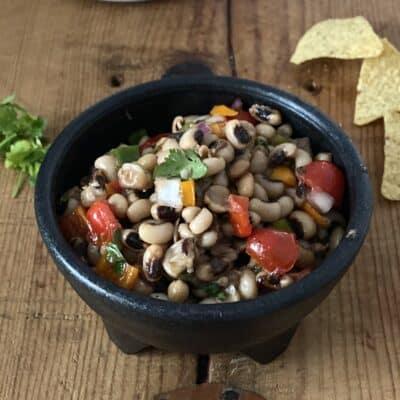 Small Batch Black-Eyed Pea Caviar