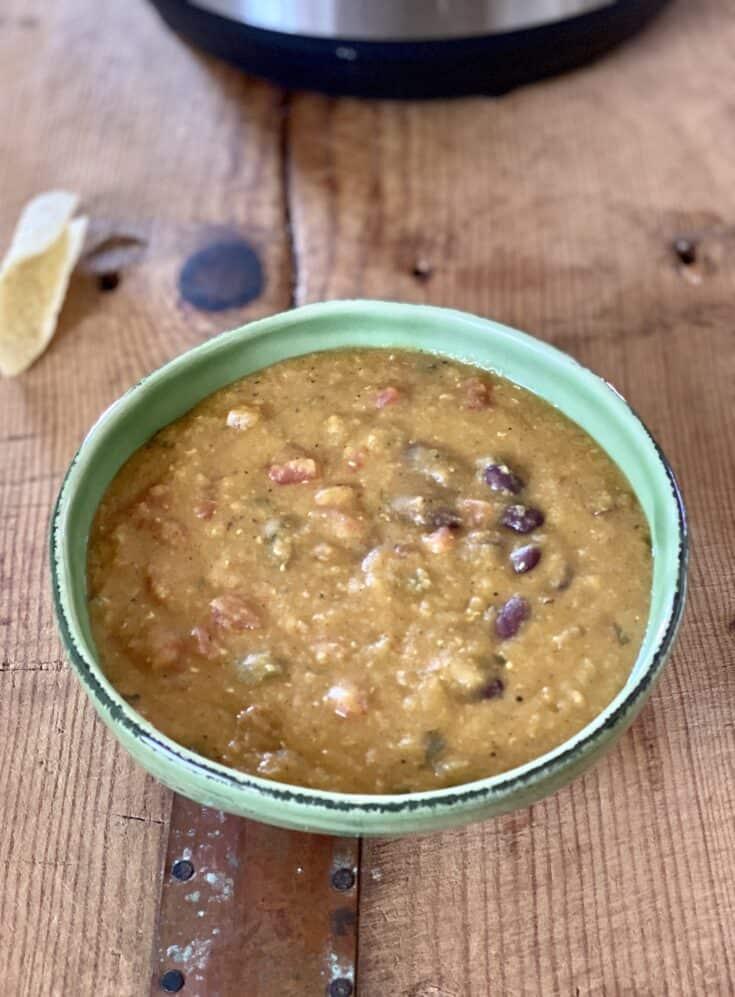Instant Pot Lentil Chili