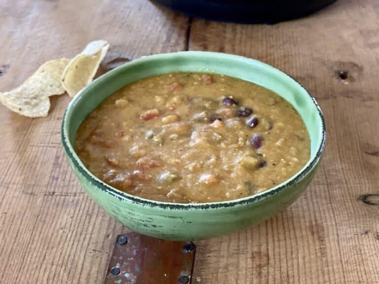 Bowl of Lentil Chili