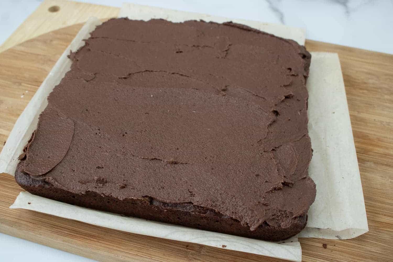 chocolate iced brownies