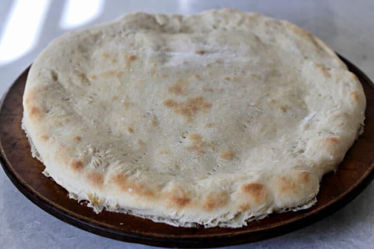 blind baked pizza