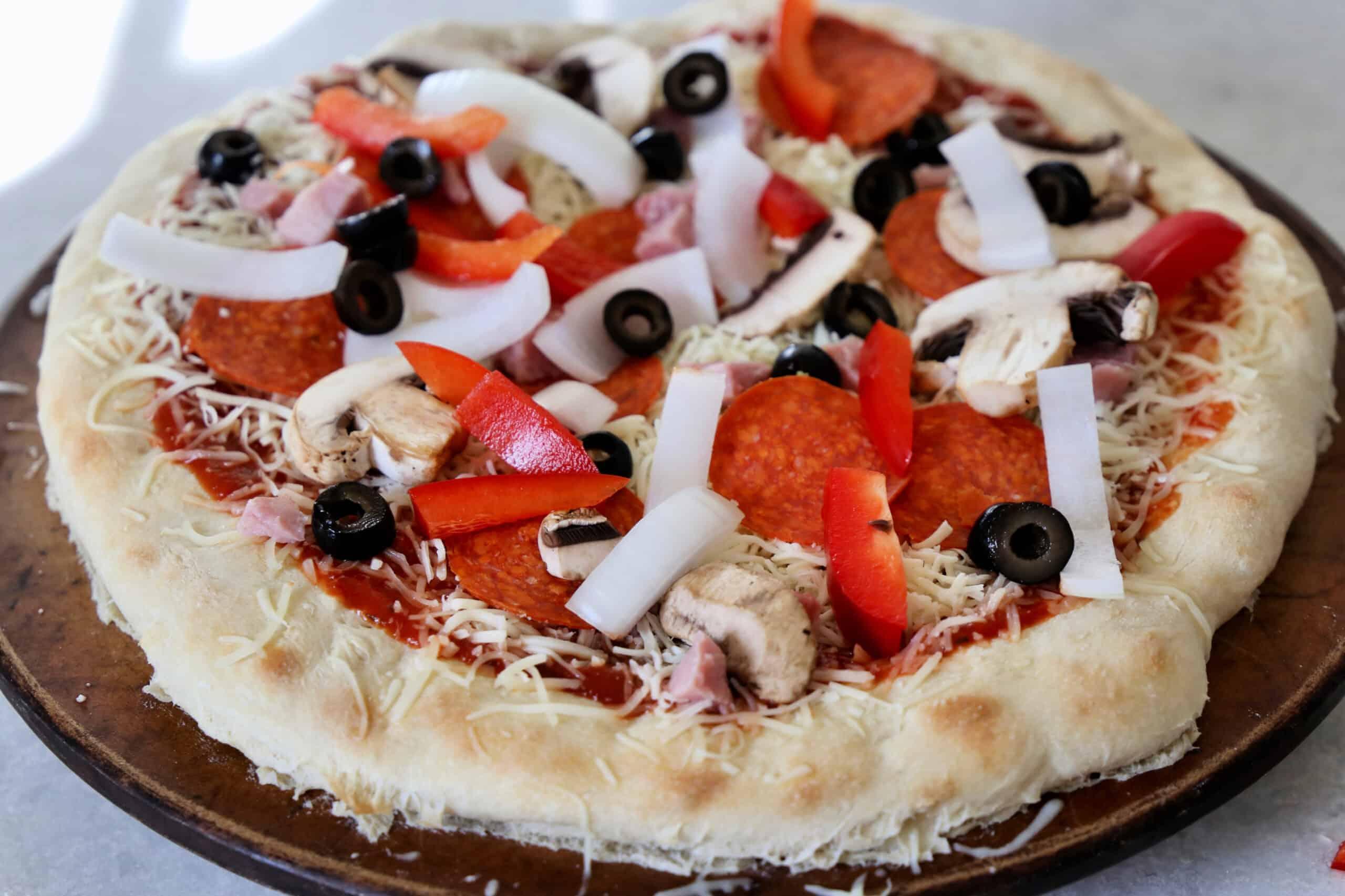 prebaked pizza