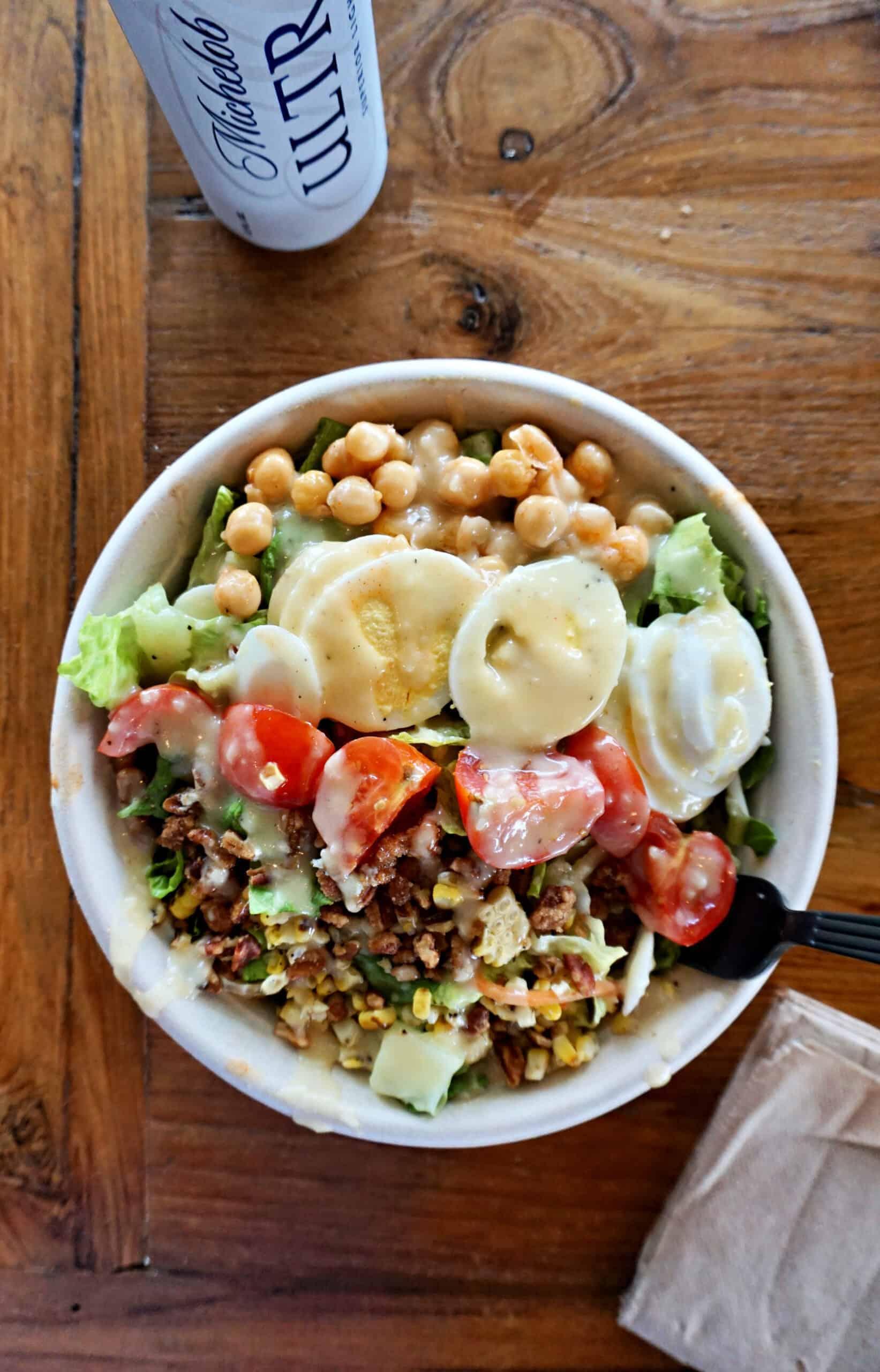Picnic Cobb Salad at Picnic Beach
