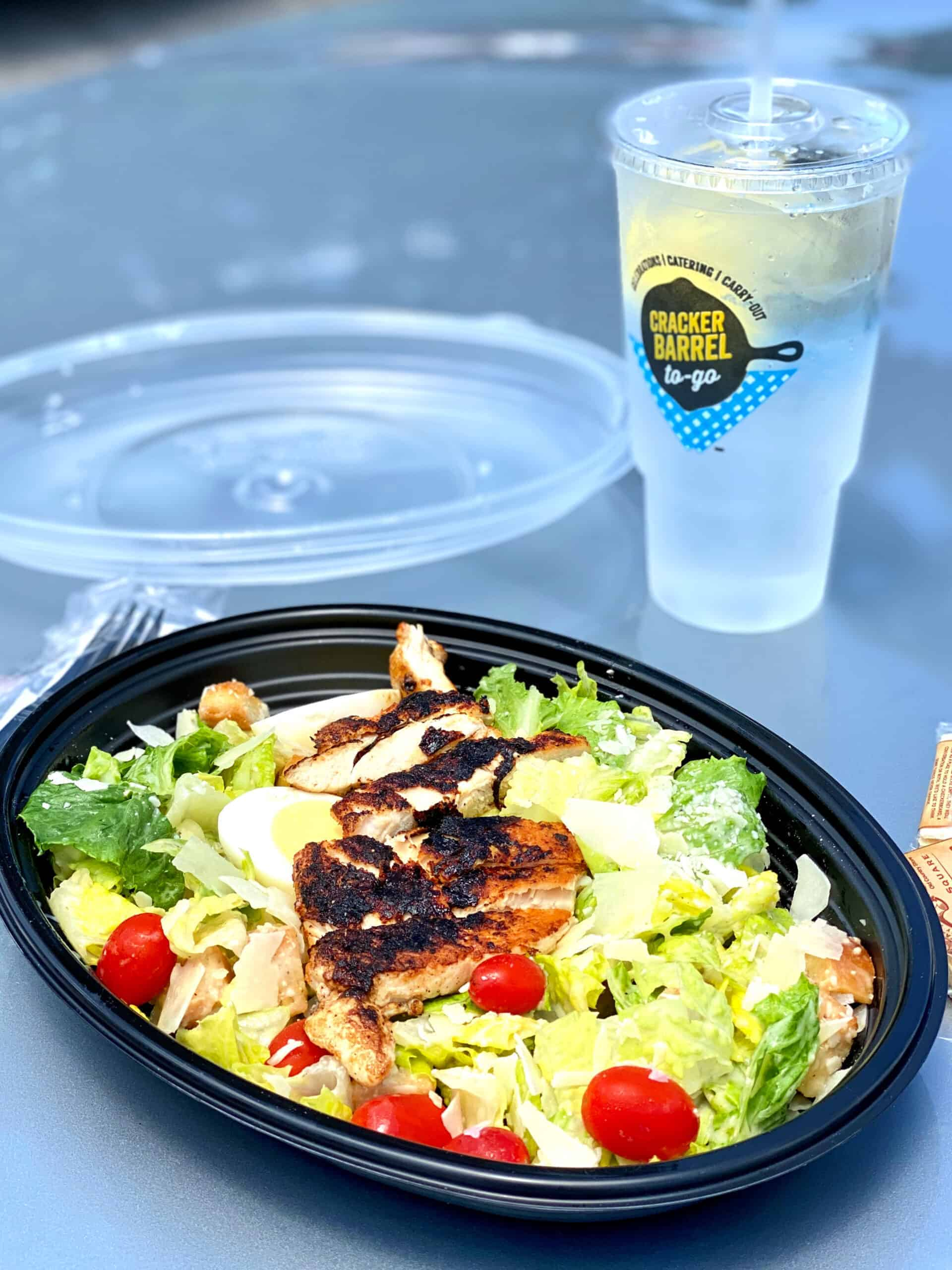 Southern Chicken Caesar Salad ordered to go