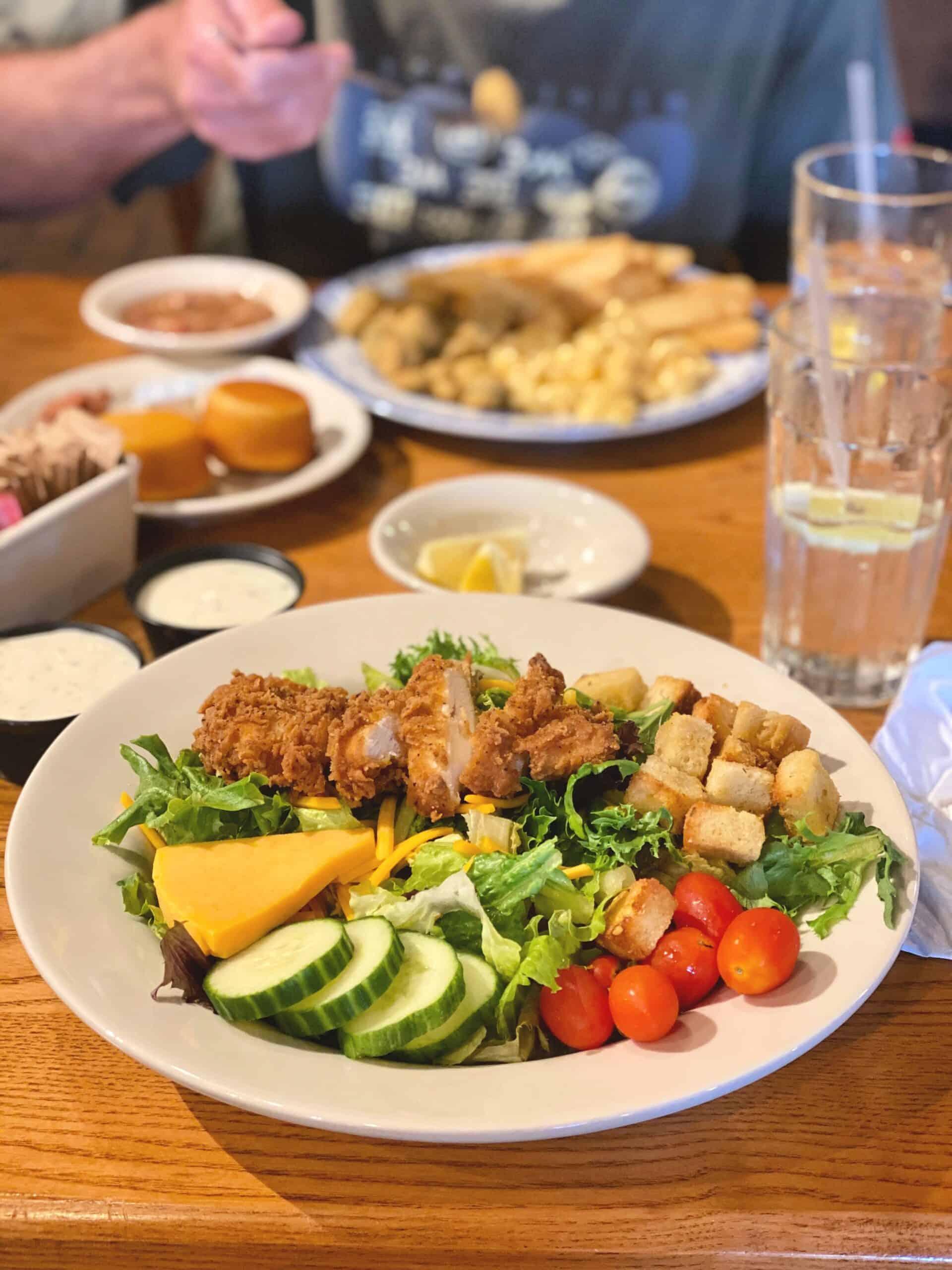 Homestyle Chicken Salad at Cracker Barrel