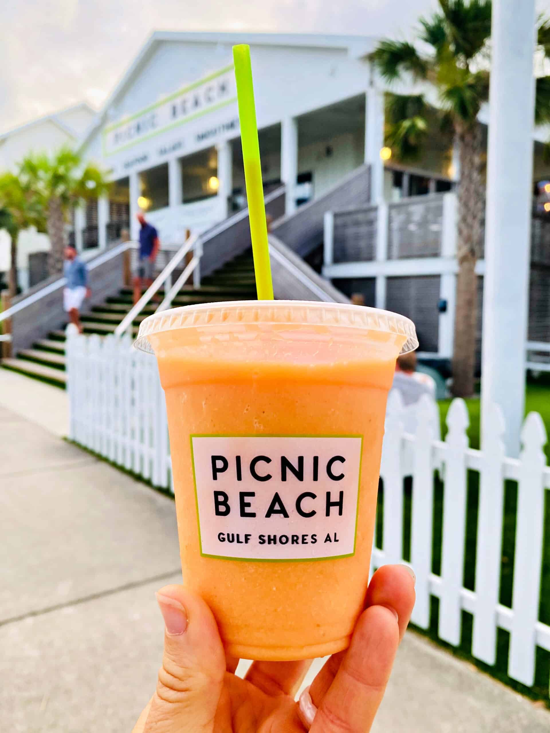 Bama Breeze Smoothie at Picnic Beach