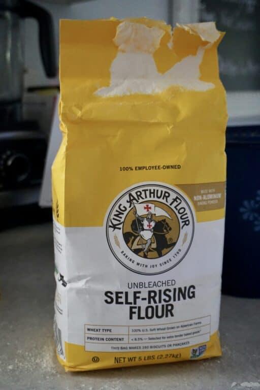 bag of King Arthur self-rising flour