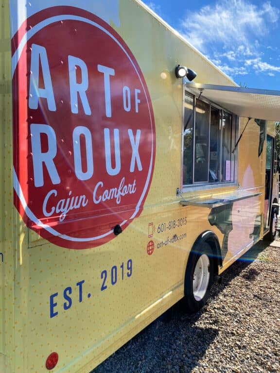 Art of Roux food truck in Hattiesburg