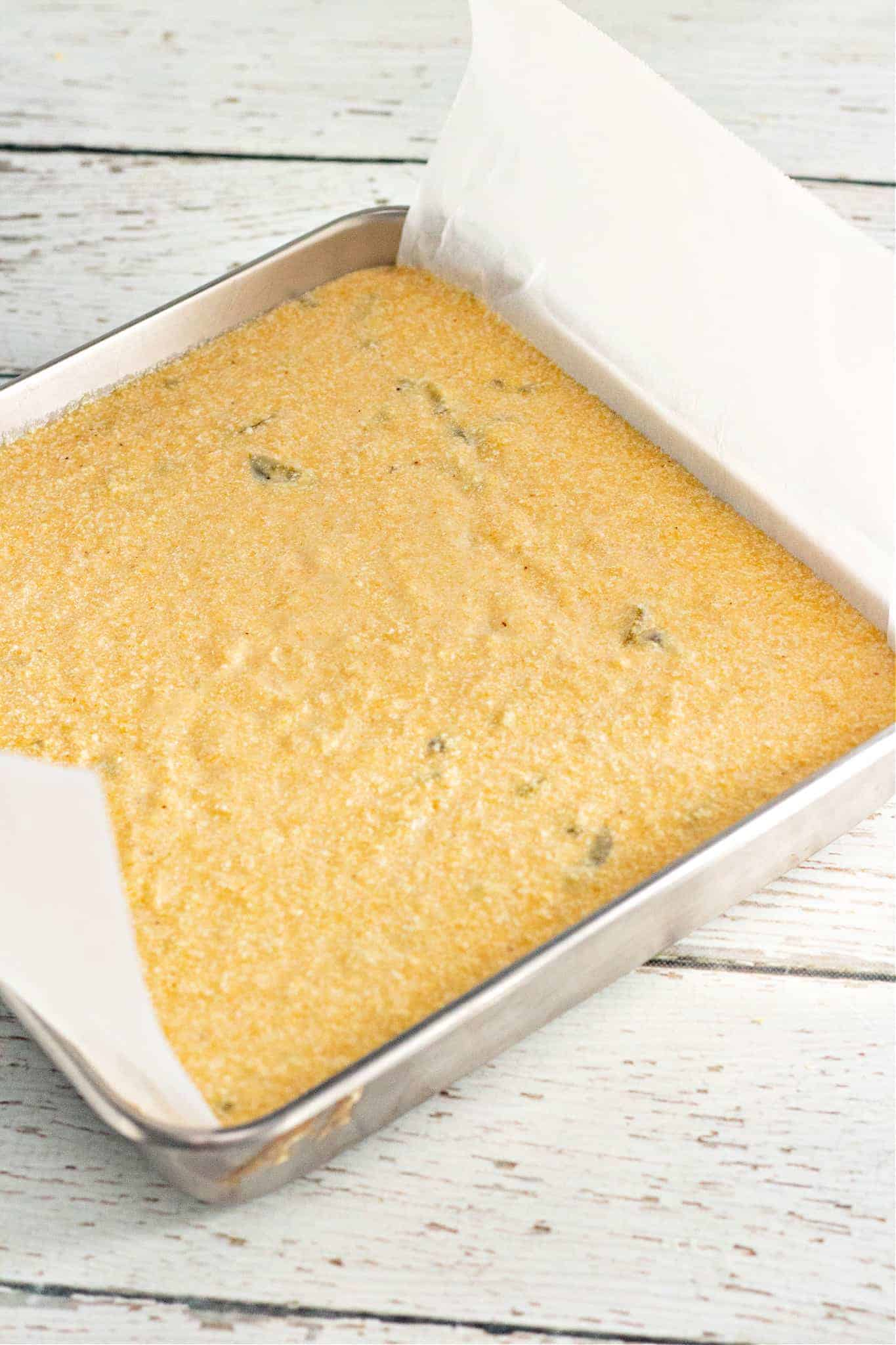 unbaked cornbread