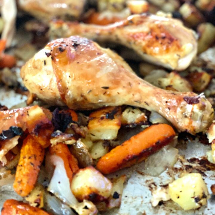 Caveman Chicken and Vegetable Roast
