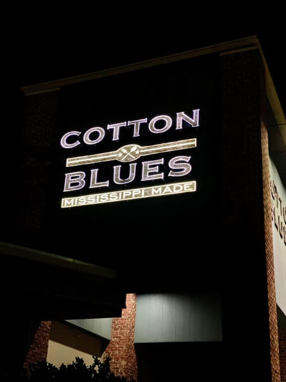 Cotton Blues restaurant
