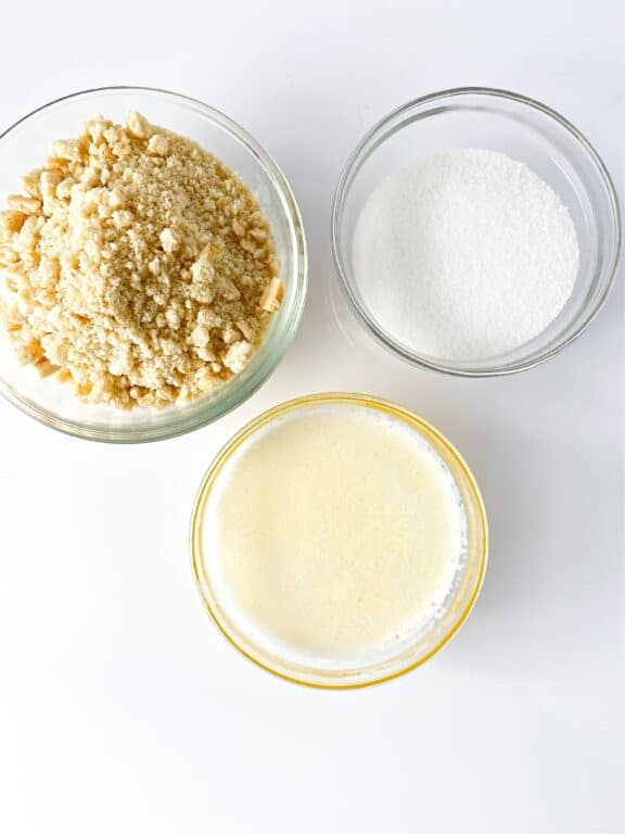 cheesecake crust ingredients