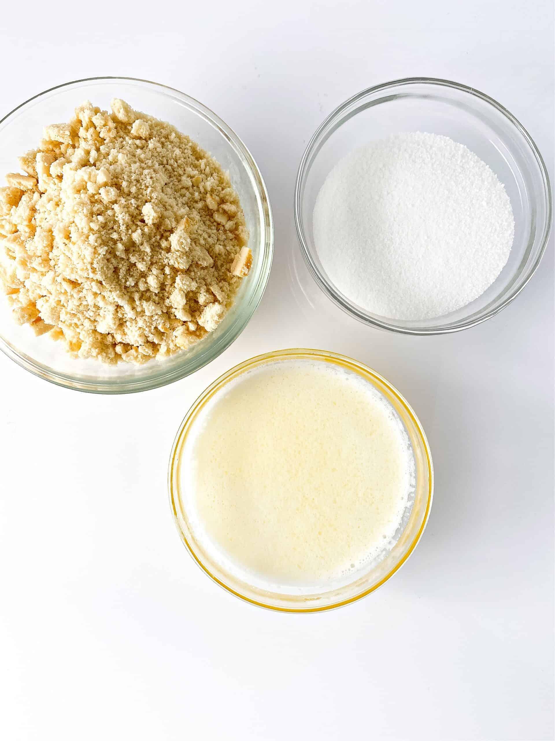 cheesecake crust ingredients
