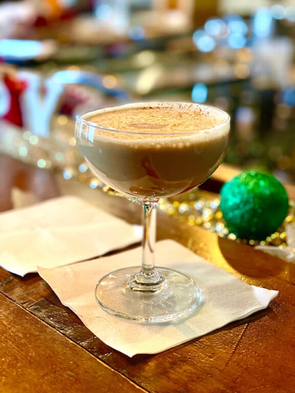 The Holiday Spirit cocktail