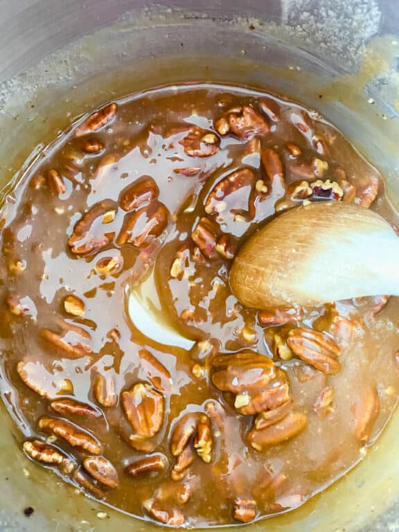 making pralines
