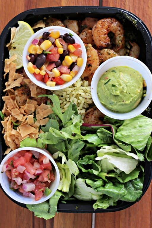 Tex-Mex Shrimp Bowl on Applebee's Menu