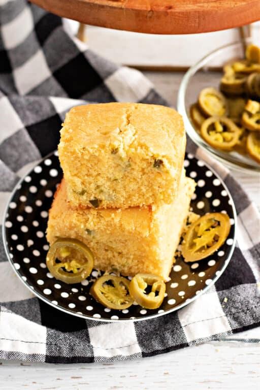 Sweet Cornbread with Jalapenos