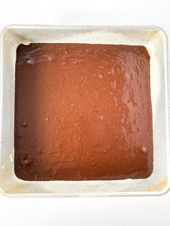 unbaked keto brownies