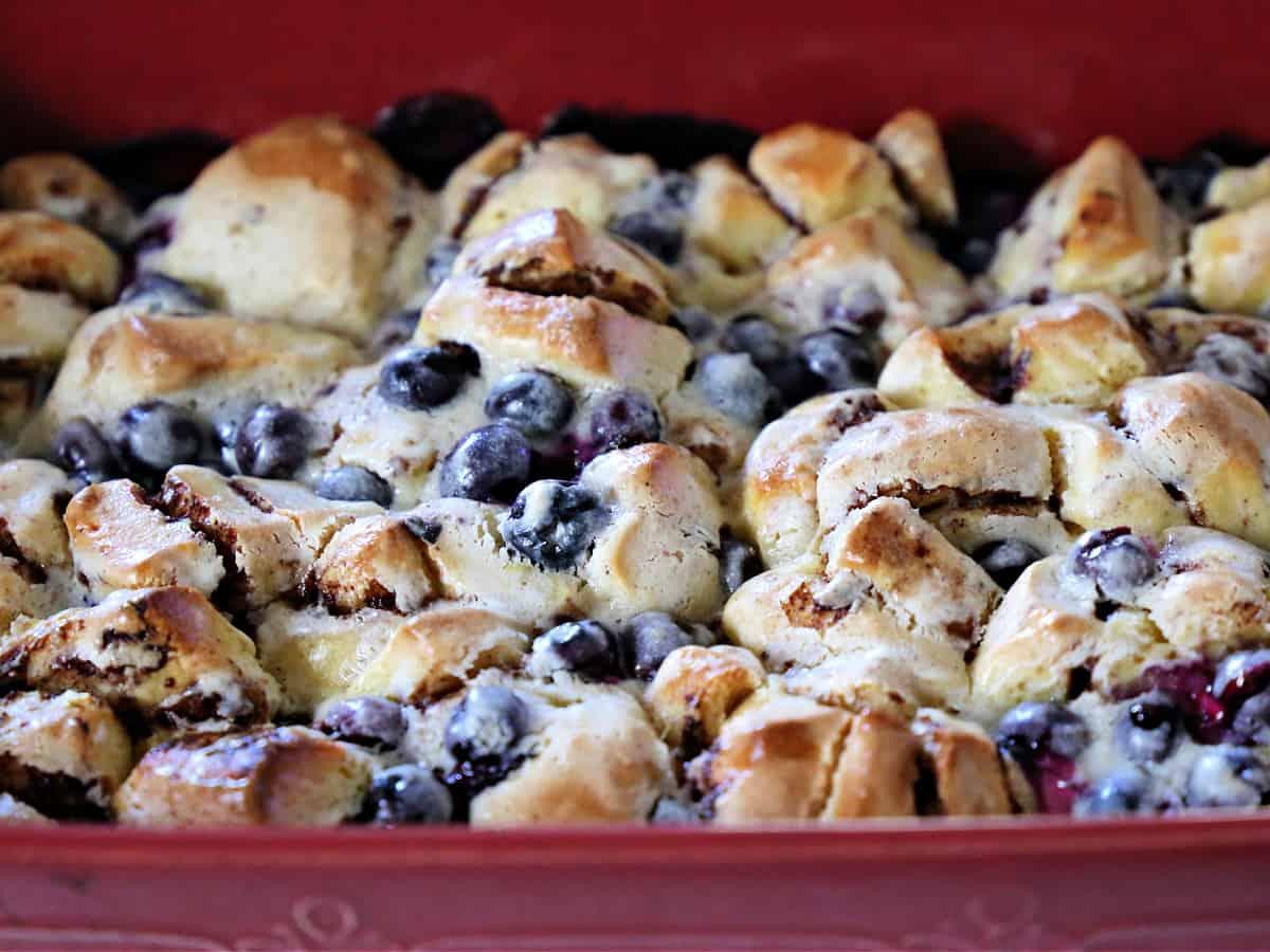 blueberry breakfast bake
