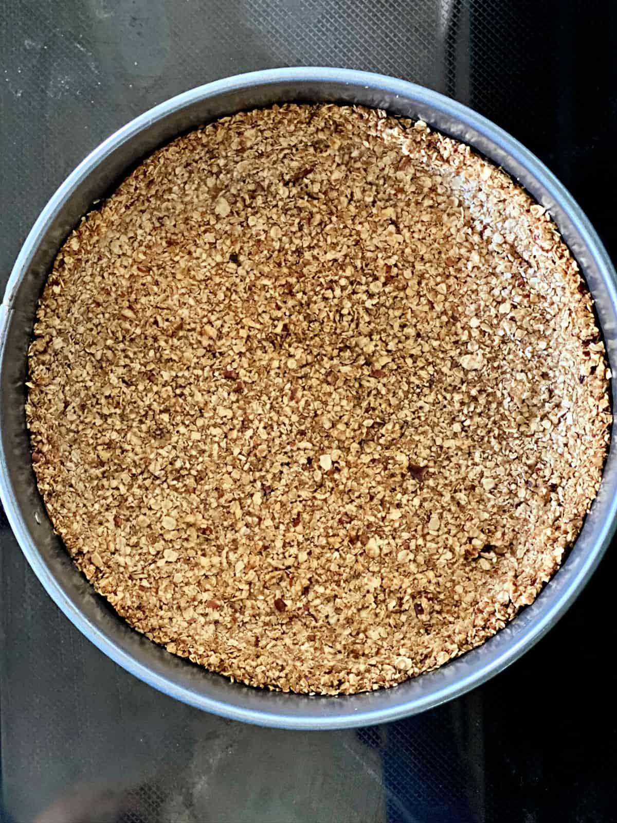 oatmeal cookie crust