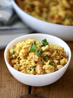 bowl of Hawaiian Fried Rice