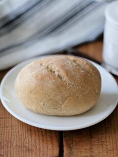 mini whole wheat loaf