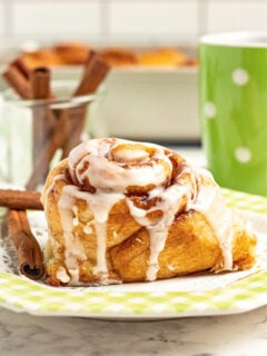 homemade cinnamon roll