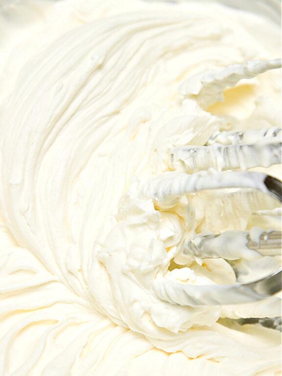Cream cheese layer