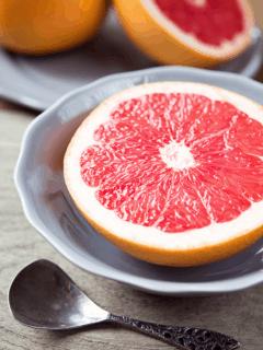 grapefruit in a bowl