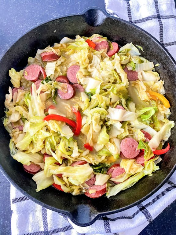 Sausage and Cabbage skillet
