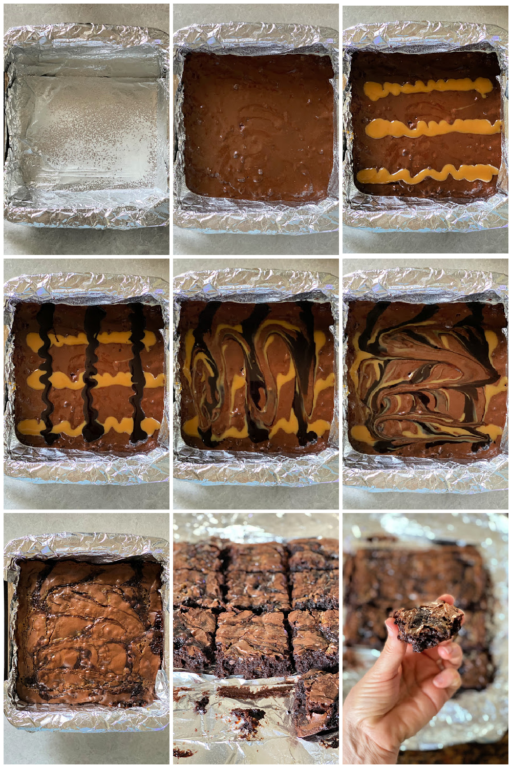 How to Make Brownies pin